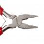 Плоскогубцы REXANT Мини 120 мм никелированные, авторазжим, обливные рукоятки