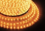 Дюралайт светодиодный, постоянное свечение (2W), желтый, 220В, диаметр 13 мм, бухта 100м, Neon-Night