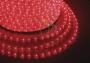 Дюралайт светодиодный, постоянное свечение (2W), красный, 220В, бухта 100м Neon-Night