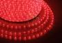 Дюралайт светодиодный, постоянное свечение (2W), красный, 220В, диаметр 13 мм, бухта 100м, Neon-Night