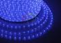 Дюралайт светодиодный, постоянное свечение (2W), синий, 220В, бухта 100м Neon-Night