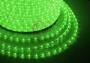 Дюралайт светодиодный, постоянное свечение (2W), зеленый, 220В, диаметр 13 мм, бухта 100м, Neon-Night