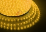 Дюралайт светодиодный, эффект мерцания (2W), желтый, 220В, диаметр 13 мм, бухта 100м Neon-Night