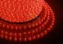 Дюралайт светодиодный, эффект мерцания (2W), красный, 220В, диаметр 13 мм, бухта 100м Neon-Night