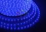 Дюралайт светодиодный, эффект мерцания (2W), синий, 220В, диаметр 13 мм, бухта 100м Neon-Night