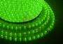 Дюралайт светодиодный, эффект мерцания (2W), зеленый, 220В, диаметр 13 мм, бухта 100м Neon-Night