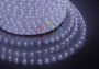 Дюралайт светодиодный, эффект мерцания (2W), белый, 220В, диаметр 13 мм, бухта 100м Neon-Night