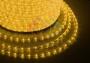 Дюралайт LED, свечение с динамикой (3W) - желтый, 24 LED/м, бухта 100м Neon-Night