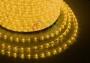 Дюралайт светодиодный, свечение с динамикой, желтый, 220В, диаметр 13 мм, бухта 100м Neon-Night