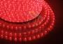 Дюралайт LED, свечение с динамикой (3W) - красный, 24 LED/м, бухта 100м Neon-Night