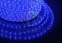 Дюралайт LED, свечение с динамикой (3W) - синий, 24 LED/м, бухта 100м Neon-Night