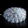 Дюралайт LED, свечение с динамикой (3W), 24 LED/м, белый, 14м Neon-Night