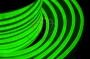 Гибкий неон светодиодный, постоянное свечение, зеленый, оболочка зеленая, 220В, бухта 50м Neon-Night