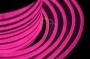 Гибкий неон светодиодный, постоянное свечение, розовый, оболочка розовая, 220В, бухта 50м Neon-Night