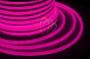 Гибкий неон светодиодный 360, постоянное свечение, розовый, 220В, бухта 50м Neon-Night