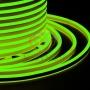 Гибкий Неон LED SMD, компактный 7х12мм, двусторонний, зелёный, 120 LED/м, бухта 100м Neon-Night
