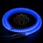 Гибкий Неон LED SMD, форма - D, синий, 120 LED/м,  бухта 100м Neon-Night