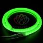 Гибкий Неон LED SMD, форма - D, зелёный, 120 LED/м,  бухта 100м Neon-Night