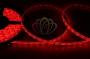 LED лента герметичная в силиконе, ширина 8 мм, IP65, SMD 3528, 60 диодов/метр, 12V, цвет светодиодов красный Neon-Night