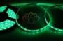 LED лента герметичная в силиконе, ширина 8 мм, IP65, SMD 3528, 60 диодов/метр, 12V, цвет светодиодов зеленый Neon-Night
