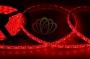LED лента герметичная в силиконе, ширина 10 мм, IP65, SMD 5050, 60 диодов/метр, 12V, цвет светодиодов красный Neon-Night
