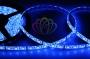 LED лента герметичная в силиконе, ширина 10 мм, IP65, SMD 5050, 60 диодов/метр, 12V, цвет светодиодов синий Neon-Night