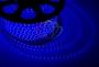 LED лента герметичная в силиконовой оболочке, 220V, 13*8 мм, IP65, SMD 5050, 60 диодов/метр, цвет светодиодов синий, бухта 50 метров Neon-Night