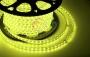 LED лента герметичная в силиконовой оболочке, 220V, 10*7 мм, IP65, SMD 3528, 60 диодов/метр, цвет светодиодов желтый, бухта 100 метров Neon-Night