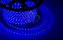 LED лента герметичная в силиконовой оболочке, 220V, 10*7 мм, IP65, SMD 3528, 60 диодов/метр, цвет светодиодов синий, бухта 100 метров Neon-Night