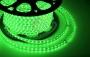 LED лента герметичная в силиконовой оболочке, 220V, 10*7 мм, IP65, SMD 3528, 60 диодов/метр, цвет светодиодов зеленый, бухта 100 метров Neon-Night