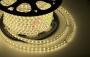 LED лента герметичная в силиконовой оболочке, 220V, 10*7 мм, IP65, SMD 3528, 60 диодов/метр, цвет светодиодов теплый белый, бухта 100 метров Neon-Night