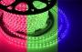 LED лента Neon-Night, герметичная в силиконовой оболочке, 220V, 10*7 мм, IP65, SMD 3528, 60 диодов/метр, цвет светодиодов зеленый, бухта 100 м