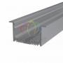 Профиль врезной алюминиевый 6332-2, 2м REXANT