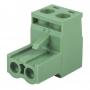 Клеммная колодка винтовая угловая (2EDGK-02P) 5мм 2 контакта (упаковка 100шт.)