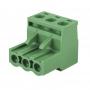 Клеммная колодка винтовая угловая (2EDGK-03P) 5мм 3 контакта (упаковка 100шт.)