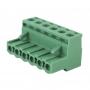 Клеммная колодка винтовая угловая (2EDGK-06P) 5мм 6 контактов (упаковка 50шт.)