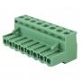 Клеммная колодка винтовая угловая (2EDGK-08P) 5мм 8 контактов (упаковка 30шт.)