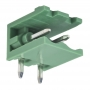 Разьемный клемный блок угловой (2EDGR-02P) 5мм 2 контакта (упаковка 100шт.)