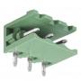 Разьемный клемный блок угловой (2EDGR-03P) 5мм 3 контакта (упаковка 100шт.)