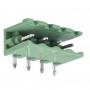 Разьемный клемный блок угловой (2EDGR-04P) 5мм 4 контакта (упаковка 100шт.)