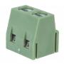 Клеммная колодка винтовая на плату (DG500-5.0-02P) 5мм 2 контакта (упаковка 100шт.)