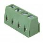 Клеммная колодка винтовая на плату (DG500-5.0-04P) 5мм 4 контакта (упаковка 100шт.)