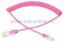Шнур HDMI - mini HDMI, 2М розовый витой REXANT (Цена за шт., в уп. 10 шт.)