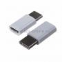 Переходник штекер USB 3.1 type C - гнездо micro USB