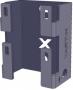 AXELENT X-TRAY 2110-2 Универсальное крепление X10 mini, оцинкованно-хромированное