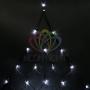 """Гирлянда """"Сеть"""" 2х2х1.5м,  свечение с динамикой, черный ПВХ, 136 LED, 230 В, цвет: Белый Neon-Night"""
