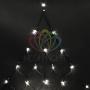 """Гирлянда """"Сеть"""" 2х2х1.5м,  свечение с динамикой, черный ПВХ, 136 LED, 230 В, цвет: Тёплый белый Neon-Night"""