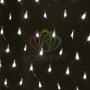 """Гирлянда """"Сеть"""" 1х1,5м, черный ПВХ, 160 LED Тёплый белый Neon-Night"""