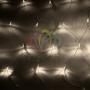"Гирлянда ""Сеть"" 1,5х1,5м, прозрачный ПВХ, 150 LED Тепло-Белые Neon-Night"