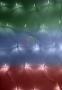 Гирлянда - сеть светодиодная 1,5х1,5м, свечение с динамикой, прозрачный провод, диоды мультиколор Neon-Night